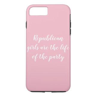 Capa de telefone republicana das meninas