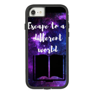 Capa de telefone resistente da galáxia do escape