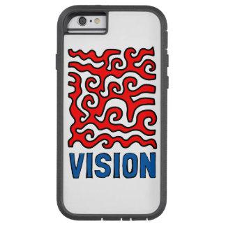 """Capa de telefone resistente de Xtreme da """"visão"""""""