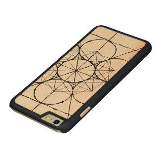 Capa de telefone sagrado artística da geometria