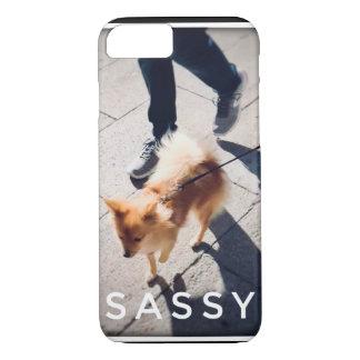 Capa de telefone Sassy de Pomeranian