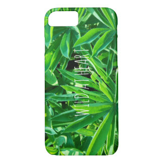 Capa de telefone selvagem do iPhone 7 da selva