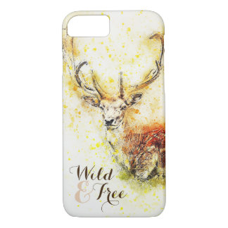 Capa de telefone selvagem & livre dos cervos | da