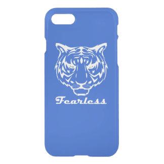 Capa de telefone sem medo da arte do tigre