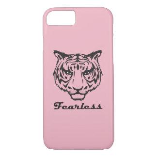 Capa de telefone sem medo do tigre