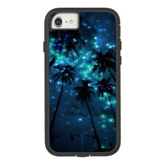 Capa de telefone tropical do iPhone 7 do paraíso