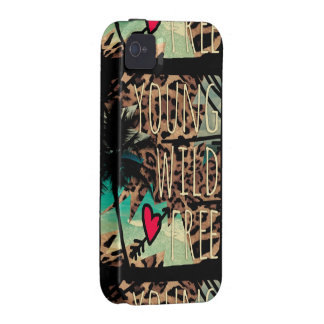 Capa de telefone tropical do leopardo 311 livre capa para iPhone 4