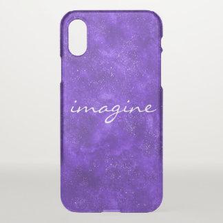Capa de telefone ultravioleta inspirada do espaço