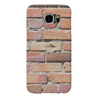 Capa Para Samsung Galaxy S6 Capa de telefone usada da parede de tijolo
