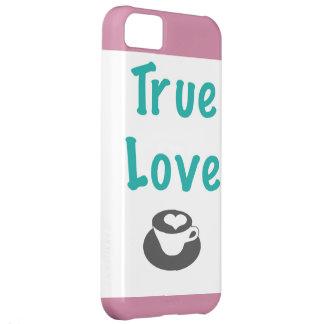 Capa de telefone verdadeira do café do amor