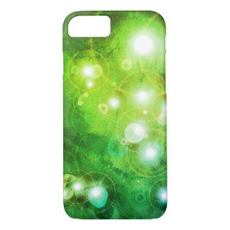 Capa de telefone verde da galáxia