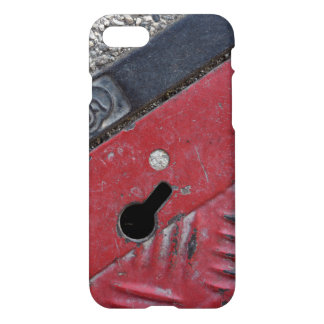Capa iPhone 8/7 Capa de telefone vermelha da estrada - impressão