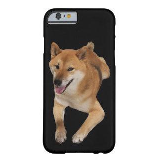 Capa de telefone vermelha do cão de Shiba Inu