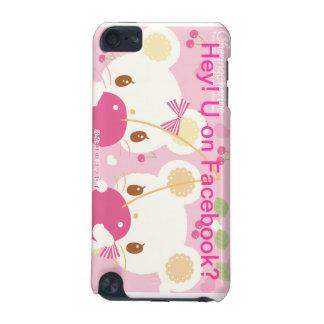 Capa do ipod touch bonito do rato e da cereja capa para iPod touch 5G