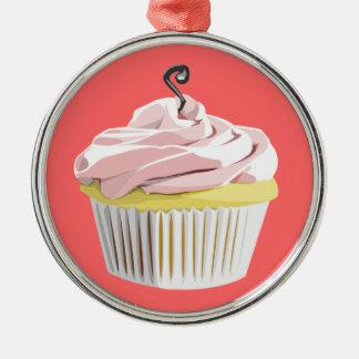 Capa do ipod touch cor-de-rosa do cupcake do ornamentos