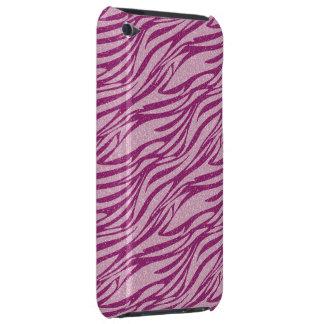 Capa do ipod touch cor-de-rosa do teste padrão da  capa para iPod touch