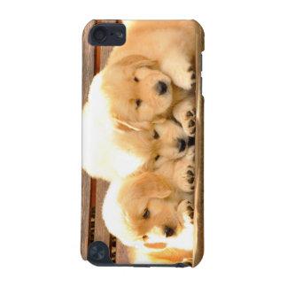 Capa do ipod touch de 3 filhotes de cachorro capa para iPod touch 5G