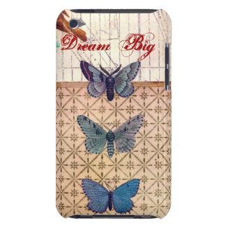 Capa do ipod touch de E com borboletas bonitas Capa Para iPod Touch