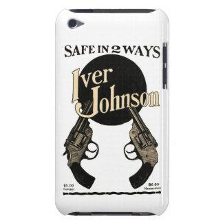Capa do ipod touch do anúncio do revólver de Iver