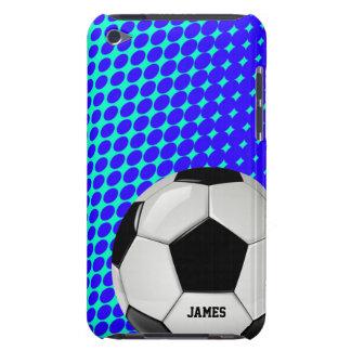 Capa do ipod touch do costume da bola de futebol