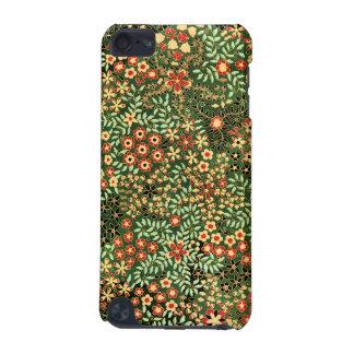 Capa do ipod touch do design floral do vintage capa para iPod touch 5G