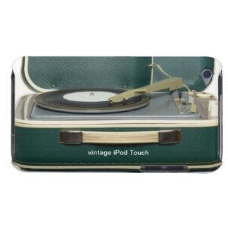 Capa do ipod touch do jogador gravado do vintage