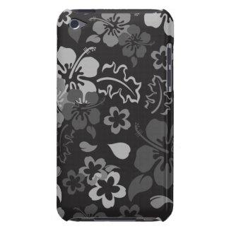 Capa do ipod touch do teste padrão de flor do hibi capa para iPod touch