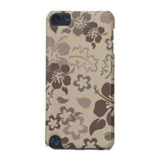 Capa do ipod touch do teste padrão de flor do hibi capa para iPod touch 5G