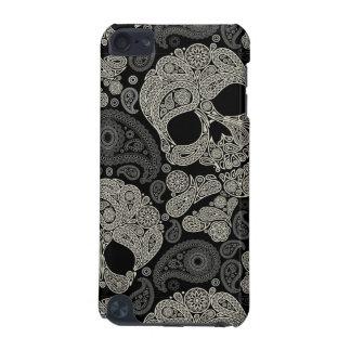 Capa do ipod touch do teste padrão do crânio do capa para iPod touch 5G