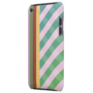 capa do ipod touch tecida colorida do vintage