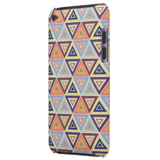 capa do ipod touch triangular do azulejo do teste