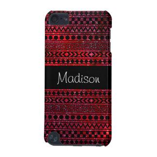 Capa do ipod touch vermelha asteca feminino feita