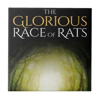 """Capa do livro """"da raça gloriosa dos ratos """""""