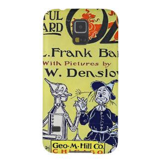 Capa do livro de mágico de Oz do vintage Capas Par Galaxy S5