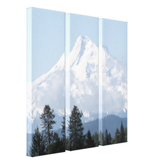 Capa excitante do Mt Impressão Em Canvas