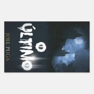 """Capa faz o livro """"O Último"""" é o autor de Joel Adesivo Retangular"""