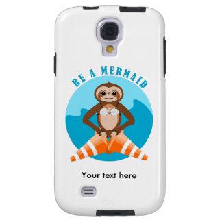 Capa Galaxy S4 A preguiça bonito seja uma sereia