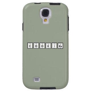Capa Galaxy S4 Elemento químico Z57c7 dos biscoitos