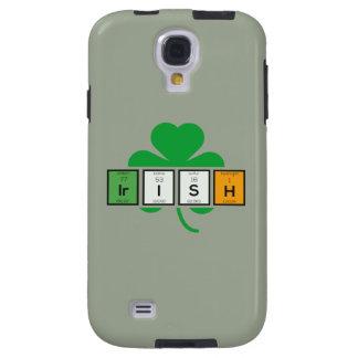 Capa Galaxy S4 Elemento químico Zz37b do cloverleaf irlandês