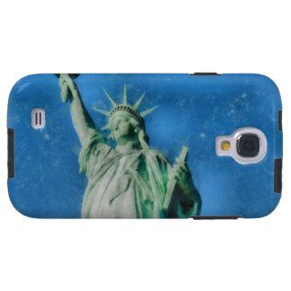 Capa Galaxy S4 Estátua da liberdade, pintura das aguarelas de New