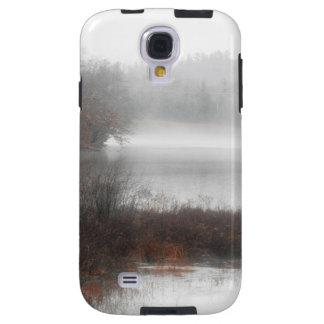 Capa Galaxy S4 Lago nevoento em um dia de inverno
