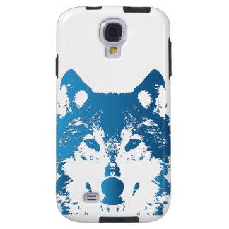 Capa Galaxy S4 Lobo do azul de gelo da ilustração