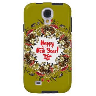 Capa Galaxy S4 O feliz ano novo