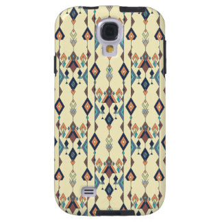 Capa Galaxy S4 Ornamento asteca tribal étnico do vintage
