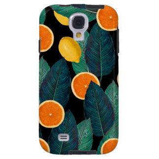 Capa Galaxy S4 preto dos limões e das laranjas