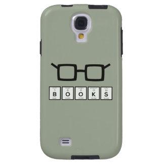 Capa Galaxy S4 Registra os vidros Zh6zg do nerd do elemento