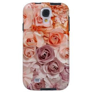 Capa Galaxy S4 rosas do vintage