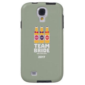 Capa Galaxy S4 Suiça da noiva da equipe 2017 Ztd9s