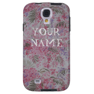 Capa Galaxy S4 Teste padrão floral