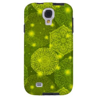 Capa Galaxy S4 Teste padrão luxuoso floral da mandala